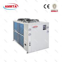 Sistema industrial portátil de refrigerador de água com glicol instantâneo