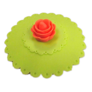 Fancy Flower Soft Silicone Coffee Cup Covers