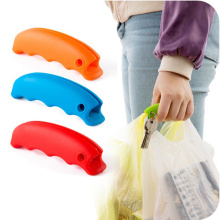 High Quality Soft Colorful Silicone Shopping Bag Handle/Holder