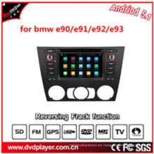 6.2inch Hla 8819 coche DVD jugar con GPS de mapa Android 5.1 HD 1024 * 600 para BMW E90 / E91 / E92 / E93