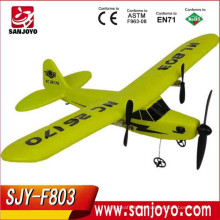HOT sale rc airplane EPP material radio control airplane, model rc airplane child toys SJY-FX803