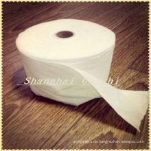 Überlappendes Vlies aus 60% Viskose 40% Polyester Spunlace für Feuchttuch-Rohmaterial