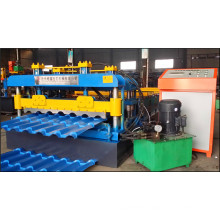 ISO Roofing Tile Roll Forming Machine, Tile Roll Forming Machine, Metal Tile Rollformer