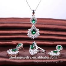 elegant 3-piece jewelry set factory OEM ODM design wedding jewelry