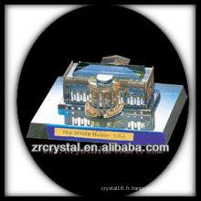 Magnifique bâtiment en cristal Modèle H030
