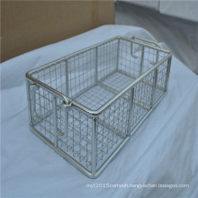 Practical Stainless Steel Wire Mesh Welded Storage Basket