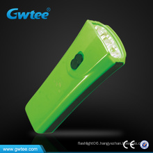 Rechargeble mini flat led flashlight