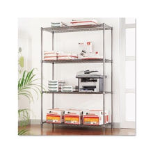 Fabricante moderno ajustable del estante de la oficina del alambre del metal del cromo (CJ12045180A4C)