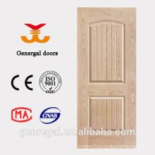 Intérieur meilleur prix en bois HDF moulant des portes