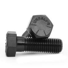 UNC BWS Half thread hex bot High quality bolts  8.8 10.9 12.9 grade black hex bolt carbon steel hex bolt