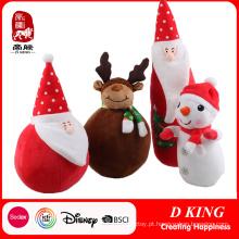 Brinquedo de pelúcia recheado de Natal para crianças