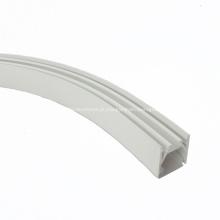 Perfil LED de silicone flexível para tira de luz LED