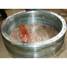 Awwa C207 Bague en acier à bride plate