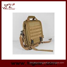 Nylon Waterproof Tactical Sling Bag Army Hand Bag Laptop Bag Backpack