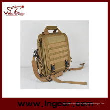 Nylon wasserdicht Tactical Sling Bag Armee Hand Tasche Laptop Tasche Rucksack