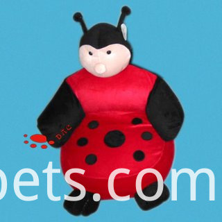 ladybug siamese cushion pillow