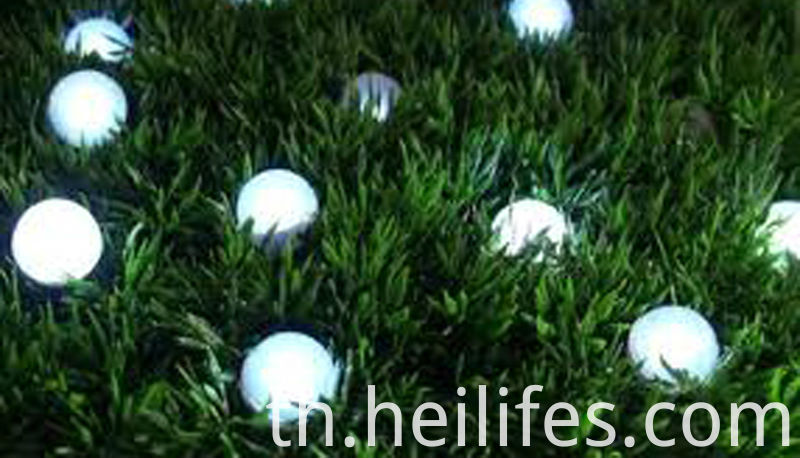 LED solar garden ball light