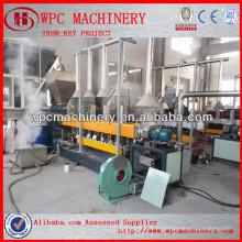 Machine de granulation en plastique en bois Machine de fabrication de granulés WPC