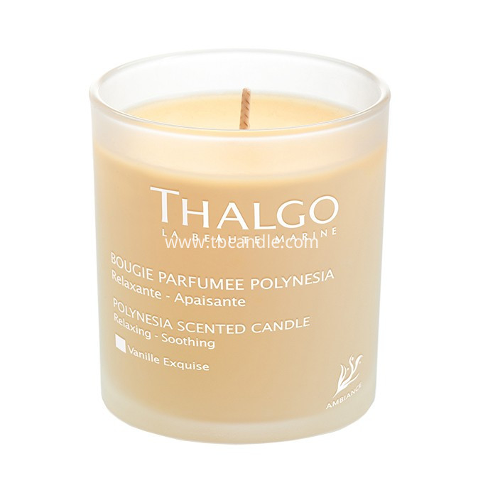 Lux Fragrances Perfumed glass Candle