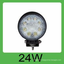 Lampe de travail auto-led de 24w DC10-30V 2160LM