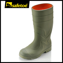 Botas de chuva de segurança industrial botas de aço Y-6041