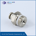 Air-Fluid Teflon Washer Fitting Straight Male Adapter.