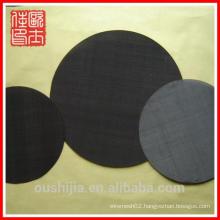 Hot-sale Black Wire Filter Mesh Disc