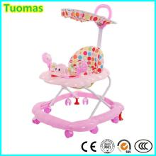 Ce Standard Outdoor Foldable Baby Walker with Roof