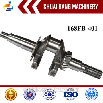 Hochleistungs-Motor Kurbelwelle 168FB, Stahl geschmiedete Kurbelwelle