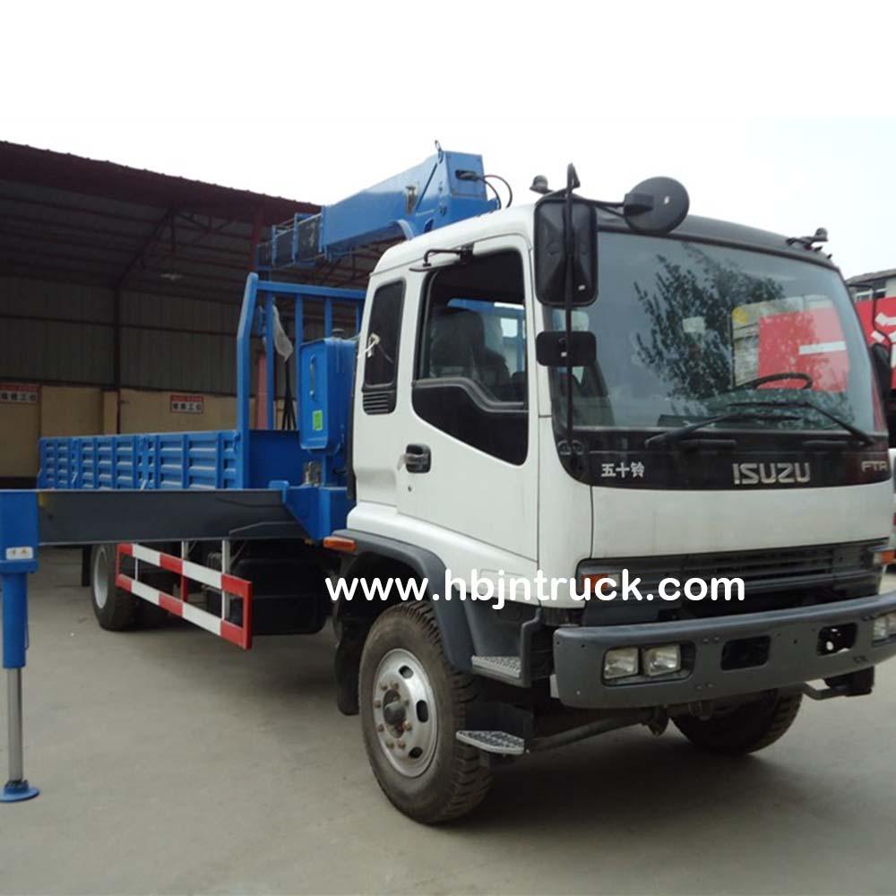 Unic Crane Truck