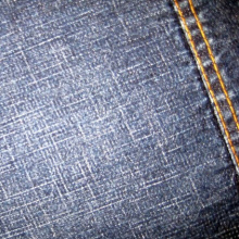 Tela al por mayor Mercerized Denim Fabric Black Denim