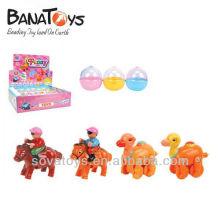 Wind up brinquedos pequenos estilos de cavalo e camelo