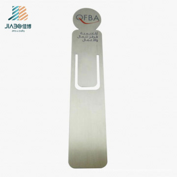 Customize Copper Stamping Promotional Gift Metal Bookmark for Wholesale