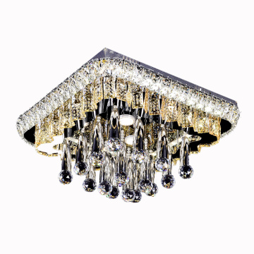 Lampadario a led moderno in cristallo K9 Crystal Lights