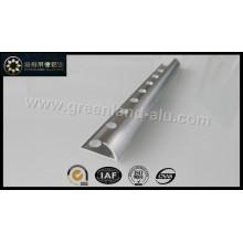 Glt171 Alumínio Trim Edge borda escovado prata para telha cerâmica para EUA