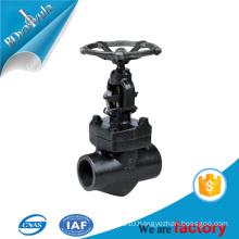 thread globe valve Black stee 150PSI 300PSI 600PSI
