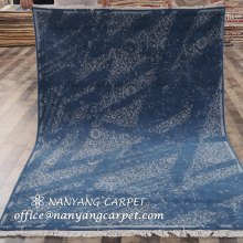 5`x7` Antique Area Rug Hand Knotted Wool Carpet