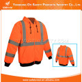 Hi Viz Hooded Sweatshirt Workwear Jacket