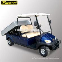 48В электрический Тип топлива CE дешевые гольф-кары для продажи с грузовой платформой