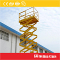 Scissor Lifting Mobile Platform