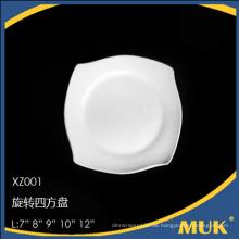2015 meistverkaufte Produkte weiße feine Geschirr Platte