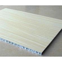 Paneles de panal de aluminio de madera para paneles de mesa