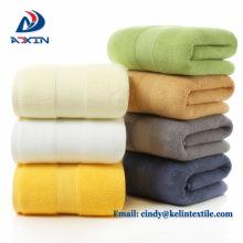 Hilo 32s / 2 color sólido pequeño polka dot 35x75cm 100% algodón cara toalla precio