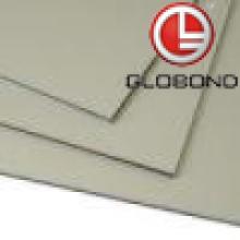 GLOBOND FR Panel compuesto de aluminio ignífugo (PF-424 gris oscuro)