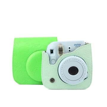 Funda protectora Polaroid Green Camera Bag