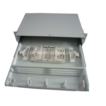 "19 ""Rack Mount Sliding Patch Panel Faseroptik"