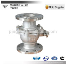 pn25 C4 stainless steel 321 316 304 flange ball valve with best price
