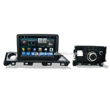 6.0 os système multimédia de voiture, usine directement! Quad core, GPS, radio, bluetooth pour mazda atenza