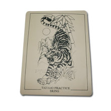Brand New Tiger Tattoo Practice Skins Tattoo Body Art With Blank Backsides