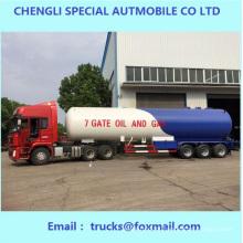 Famoso Trailer de tanque de gás líquido 3 eixos 58.8cbm para vendas